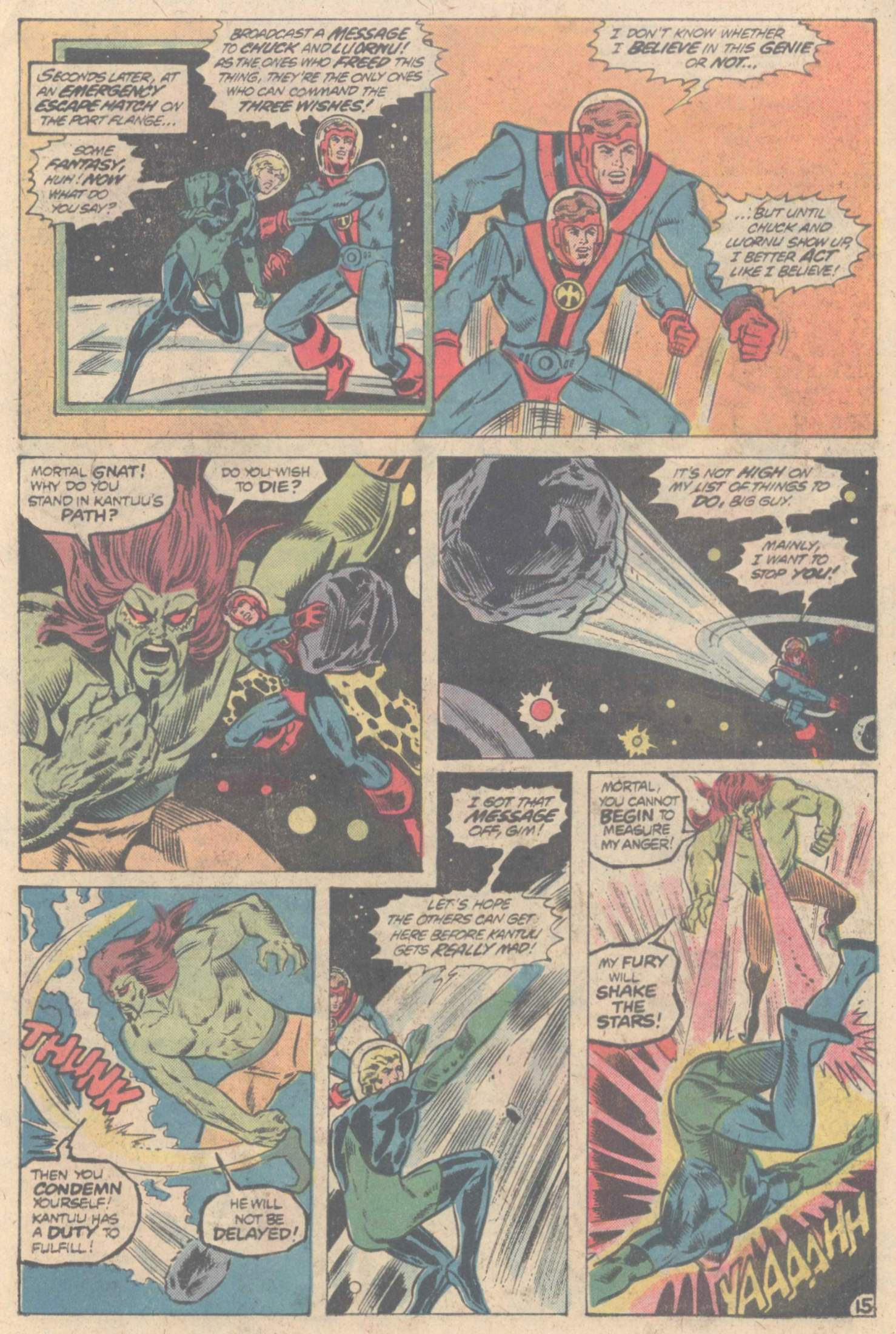 Legion of Super-Heroes (1980) 266 Page 25