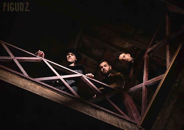Le trio Figurz promet un rock indie très puissant.