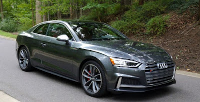 Audi RS5 Coupe car pictures - Black color