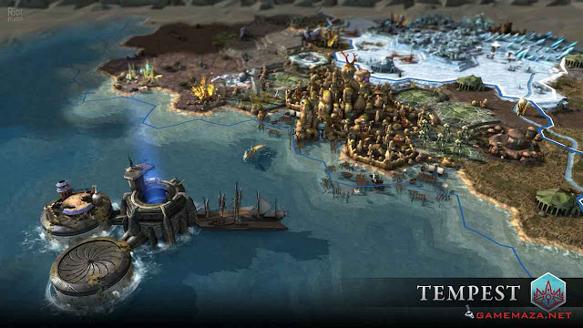 Endless Legend Tempest Gameplay Screenshot 2