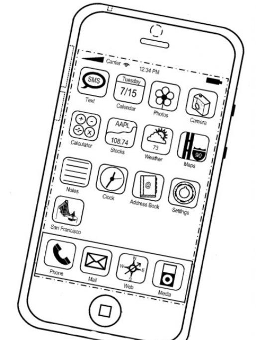 Iphone Coloring Page