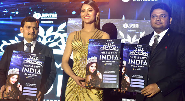 Launch of Miss and Miss India India Glam Hunt 2018 by Bollywood Actress Urvashi Routela