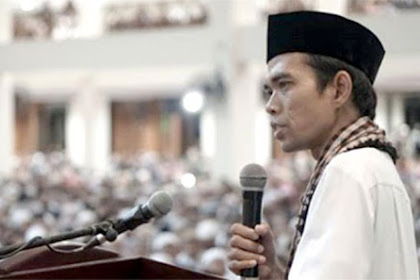 JANGAN LUPA..! Ustaz Abdul Somad di lapangan Murjani Banjarbaru Hari Ini