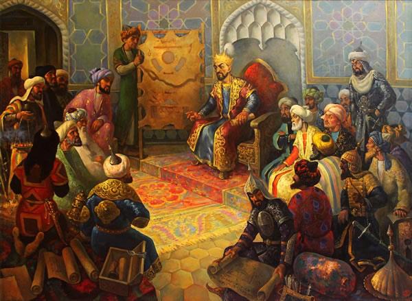 Timurlane court
