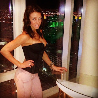 Alisha Lucik and beautiful Las Vegas