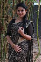 Tamil Actress Sri Priyanka Pos in Saree at Pichuva Kaththi Tamil Movie Audio Launch  0008.JPG