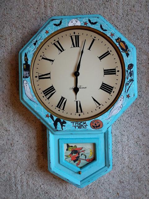 Halloween Themed Clock