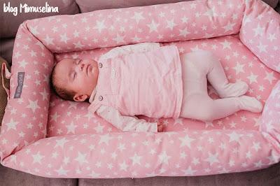 crear hábitos y rutinas del sueño en los recién nacidos y bebés blog mimuselina cuconest cuco rosa estrellas