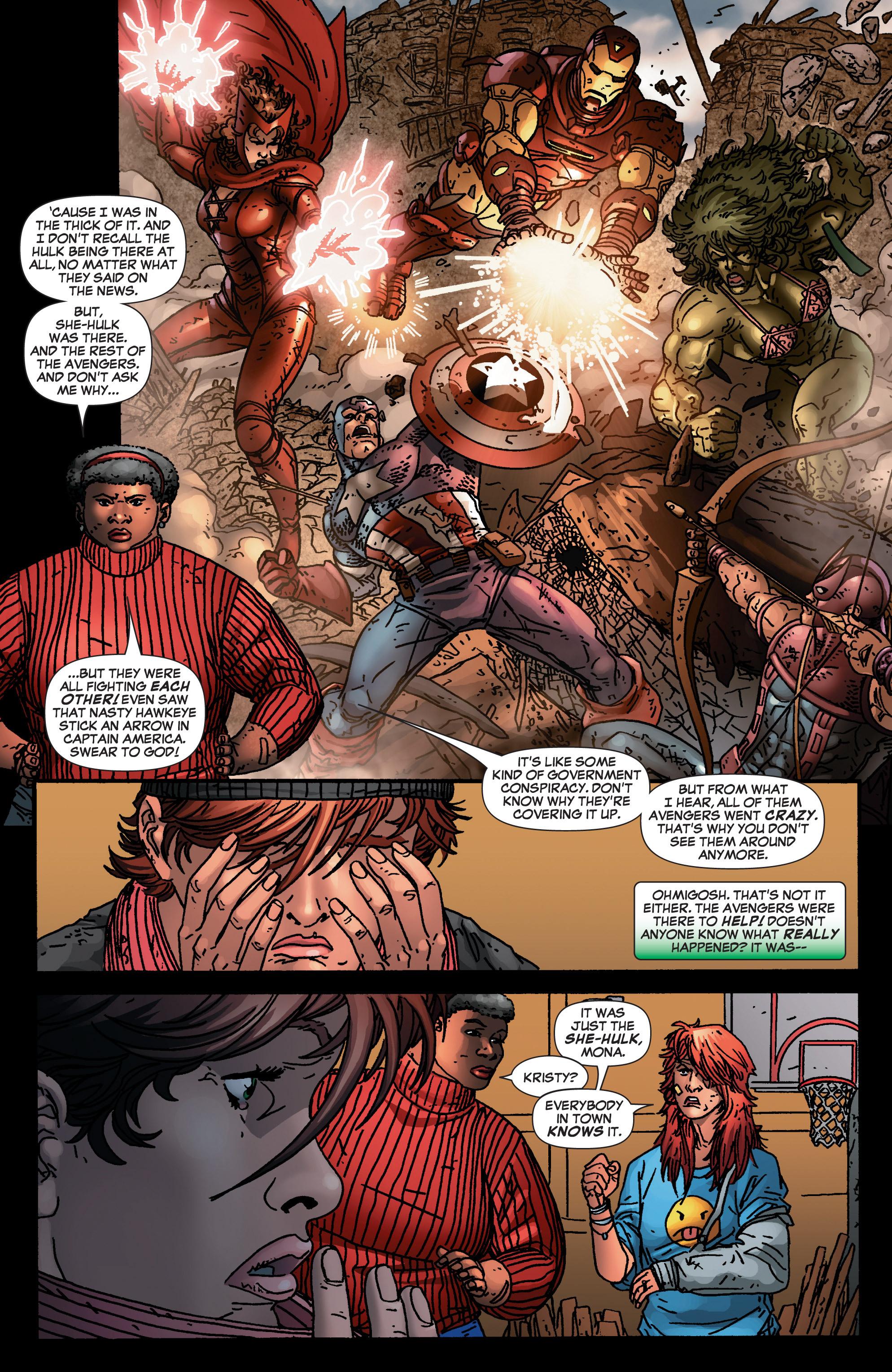 Read online She-Hulk (2005) comic -  Issue #4 - 8