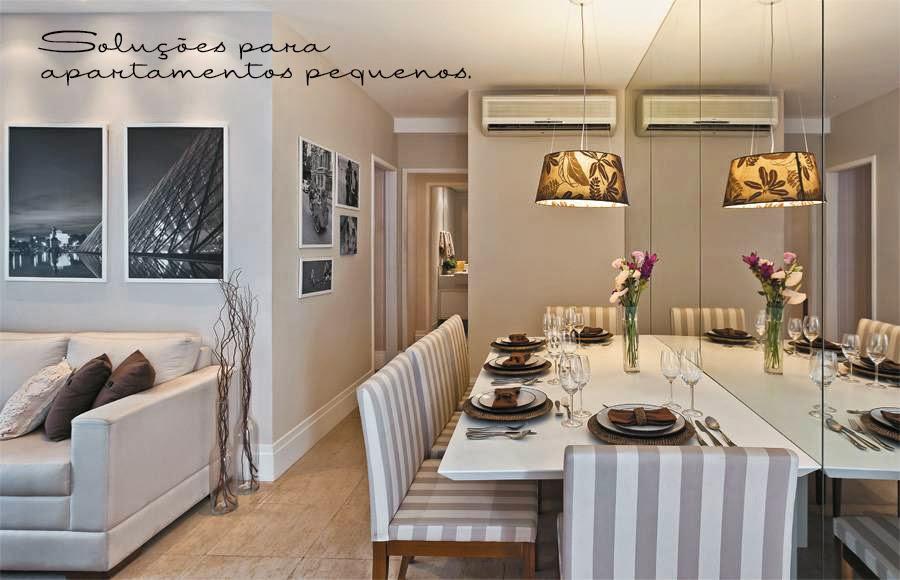Solu es para apartamentos pequenos ap em decora o for Acabados para apartamentos pequenos