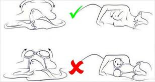 5. YOU WEAR YOUR BRA WHILE SLEEPING