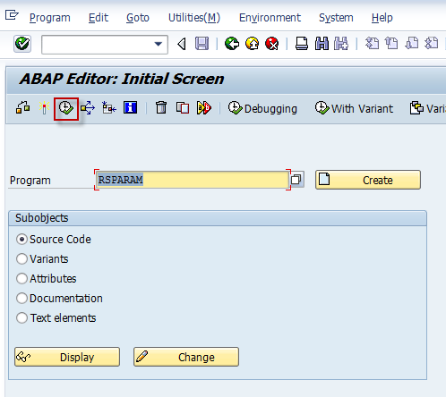 SAP Basis For Beginner: How to display SAP profile parameters