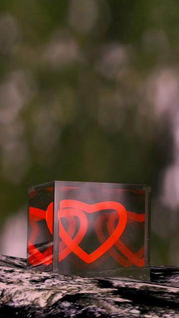 iPhone 5 Wallpaper - Heart Box