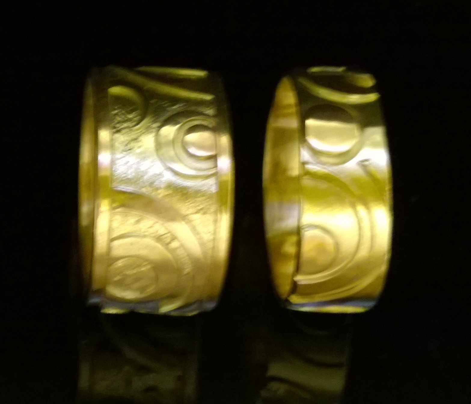 y wales maes museum national rings from iconographic groes articles ring saints