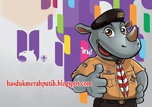 Kumpulan Gambar Kartun Sticker Transparan Anak Pramuka Unyu