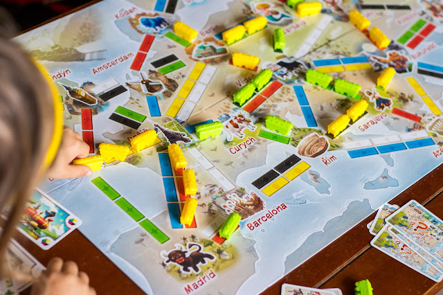 recenze hry Ticket To Ride Junior