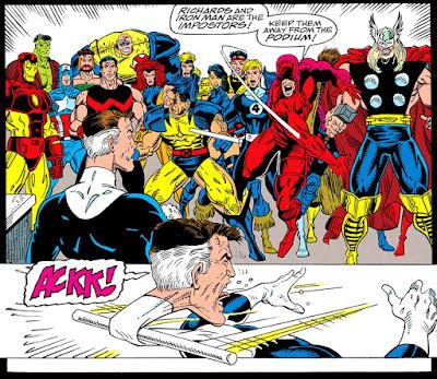 Daredevil se enfrenta al doble de Mister Fantástico