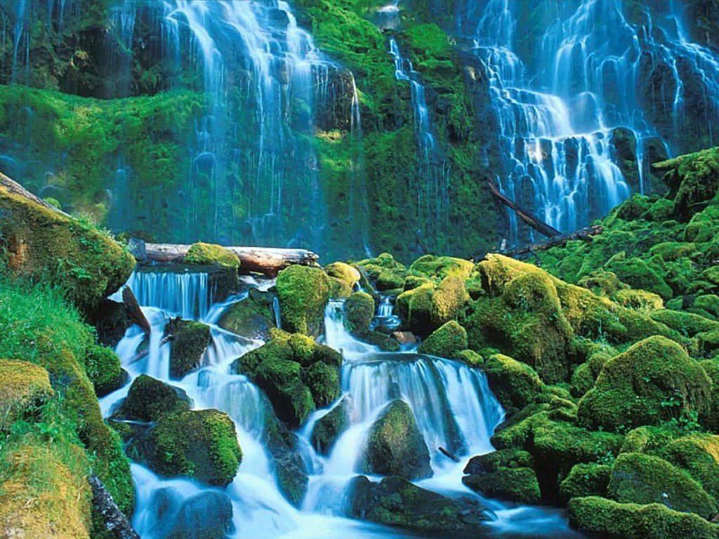 Cool HD Nature Desktop Wallpapers Natural Waterfall Wallpapers