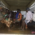 Lobatan!  These 13 Children, 15 Adults chained in a house rescued by Lagos state police... photos