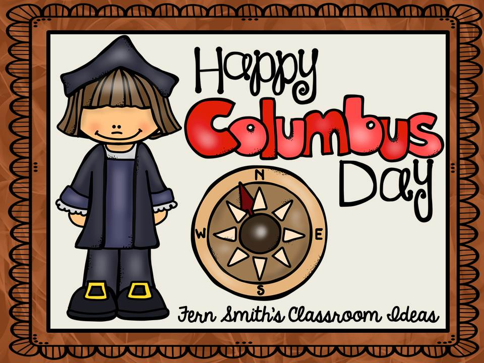 Fern Smith's Classroom Ideas Columbus Day Resources Pinterest Board.