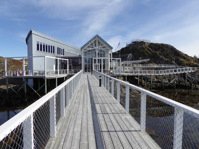 Lofoten Kabelvag : Lofotakvariet un bel aquarium