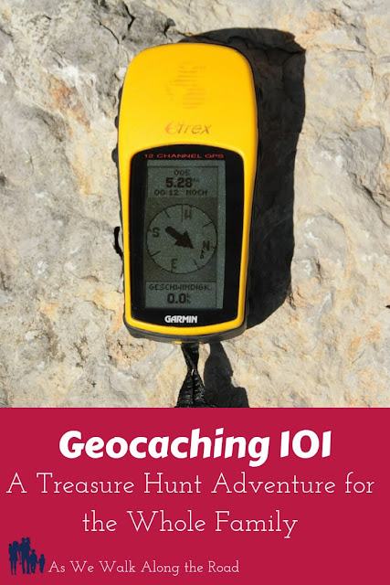 Learn to #geocache. This is an awesome #family fun activity that will get the whole family outdoors and involved in a giant treasure hunt! #familytime #AsWeWalk