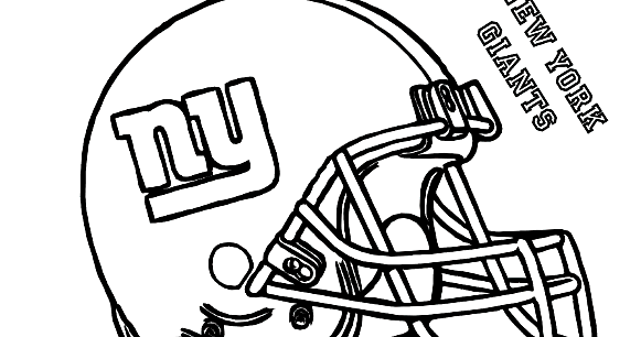 Superbowl Coloring Pages Printable