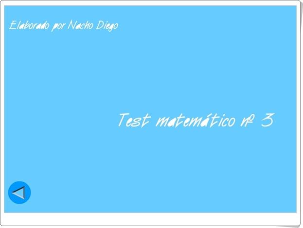 Usa el coco Test matemático Nº 3 Ángulos