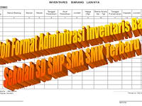 Contoh Format Laporan Inventaris Barang Komplit Terbaru