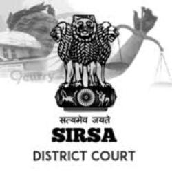 District & Sessions Court Sirsa Jobs