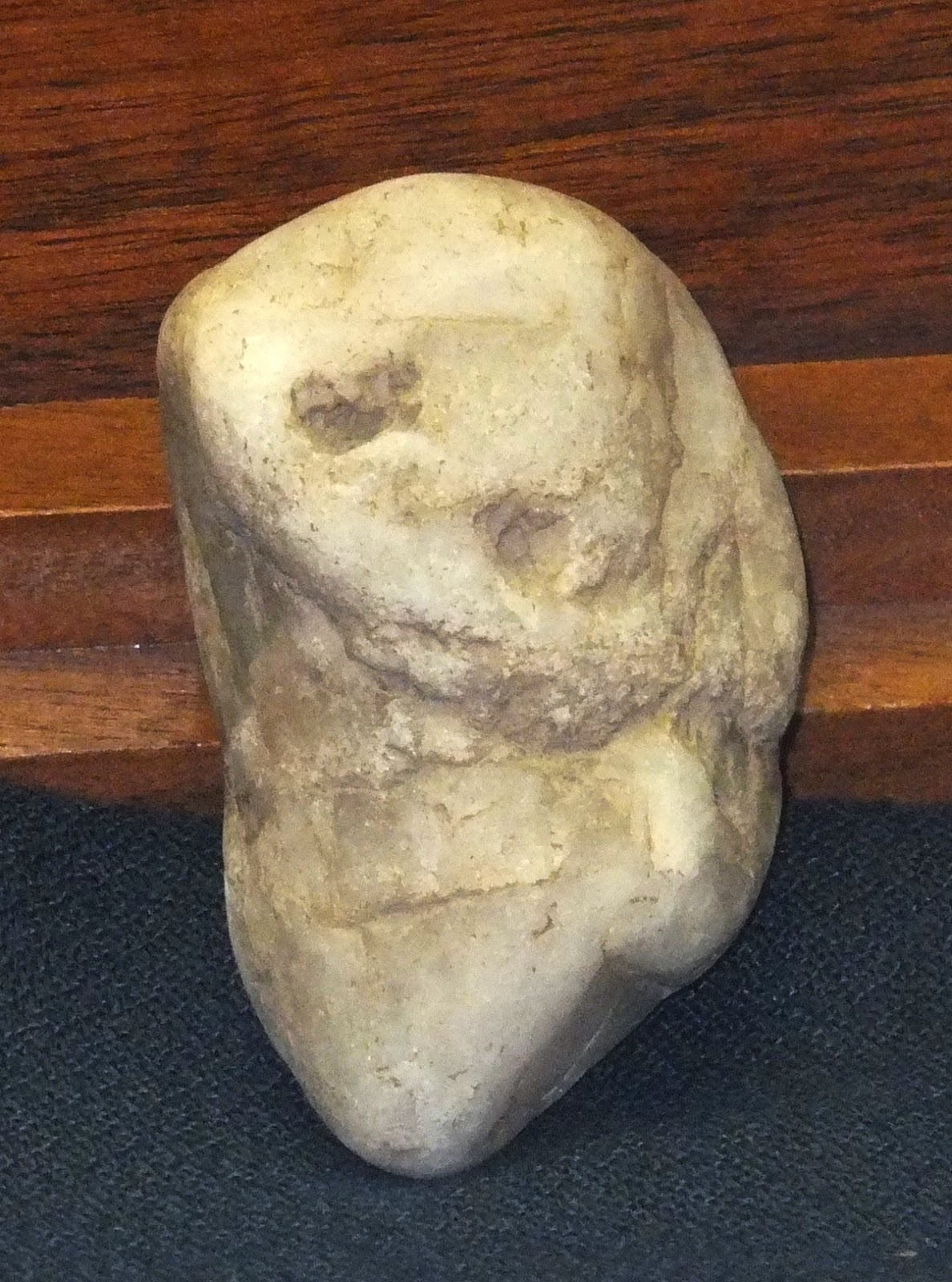 Ancient american stone art portable rock