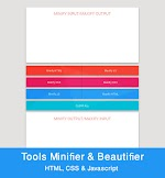 HTML, CSS, Javascript Compressor Dan Beautifier