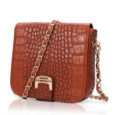 Crocodile Bag Banggood - A Glimpse of Glam