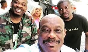 Don Jazzy And His Father Celebrate Their Birthday Today
