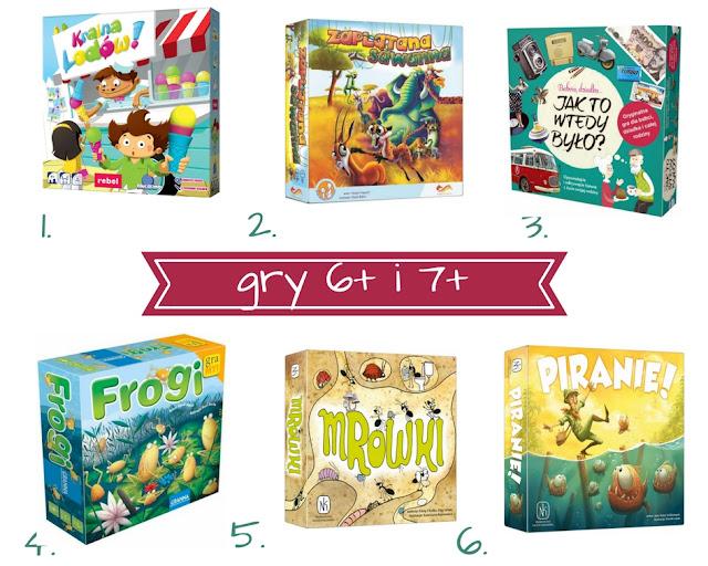 Najciekawsze gry dla 6- i 7-latka - planszówki na Dzień Dziecka (6+ i 7+)