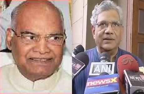 sitaram-yechury-will-not-support-ramnath-kovind-as-he-from-rss