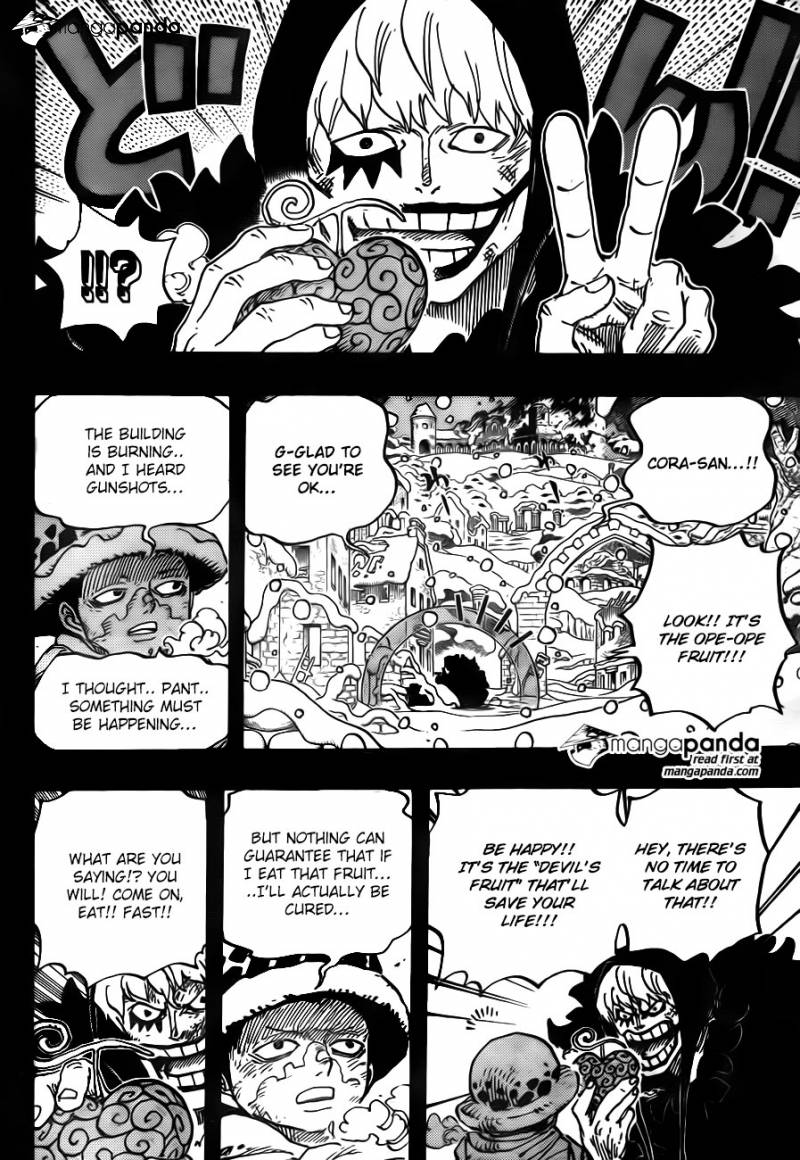 One Piece Ch 766: Smile