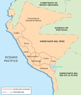 Nacimiento del Virreinato del Perú
