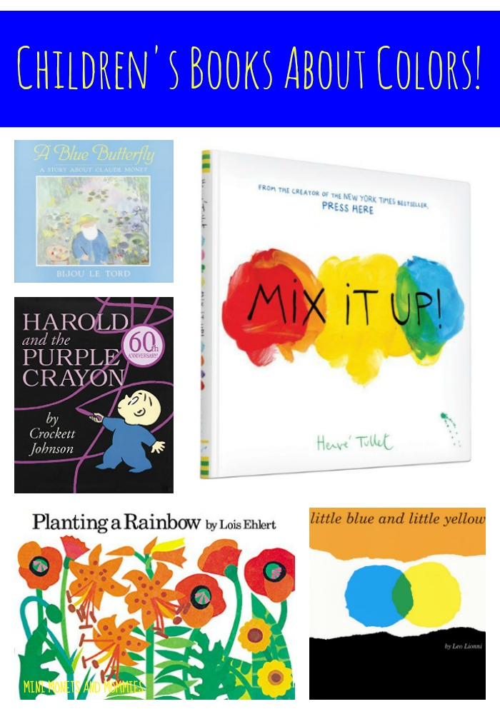 Mini Monets and Mommies: 11 Children\'s Books About Colors