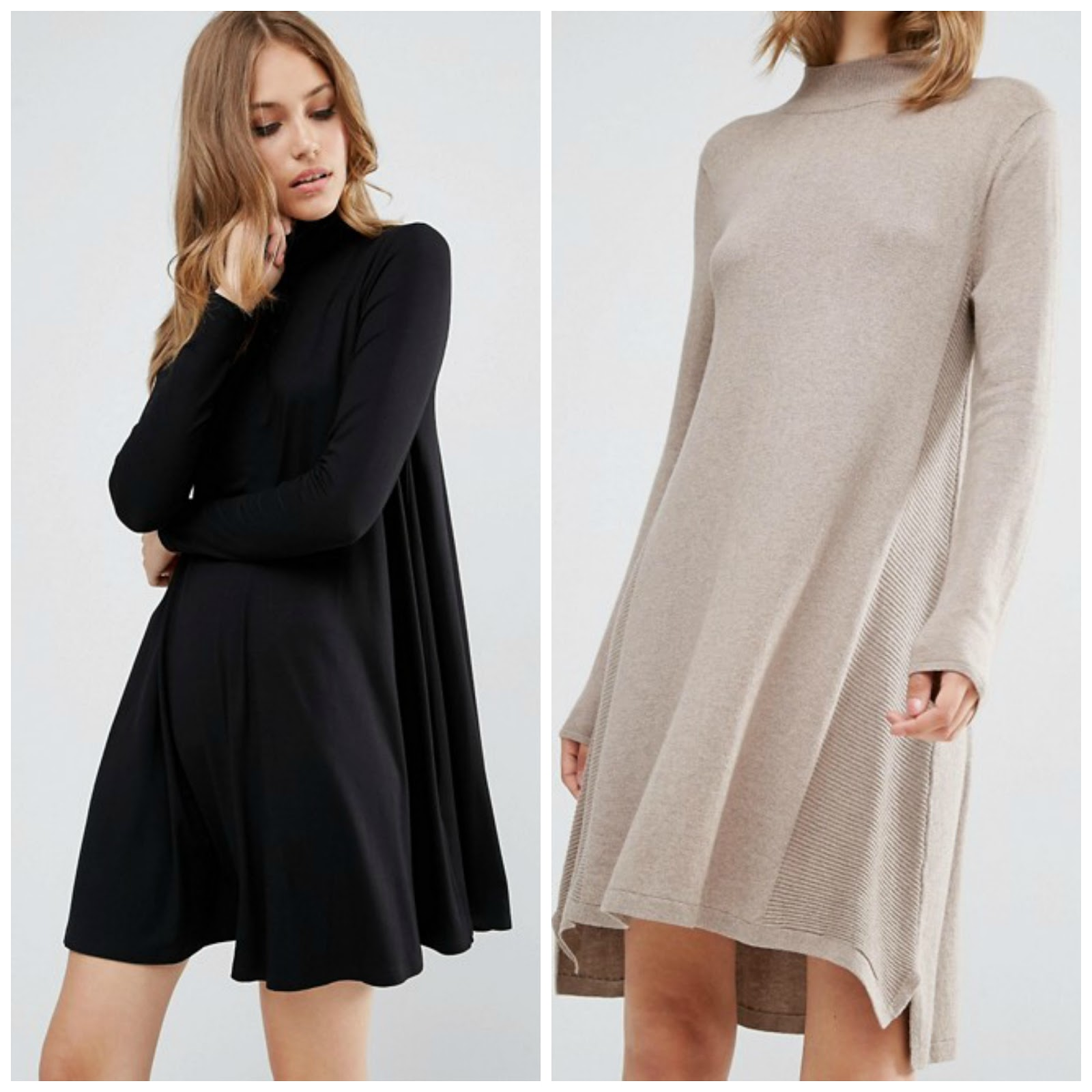 Turtleneck Sweater Dress Under $50