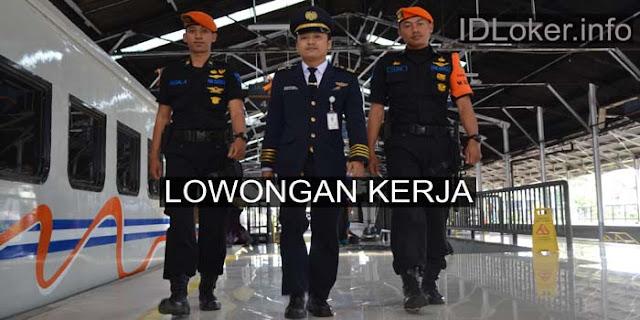 Lowongan Kerja Polisi Khusus Kereta Api di PT KAI Untuk Lulusan SLTA