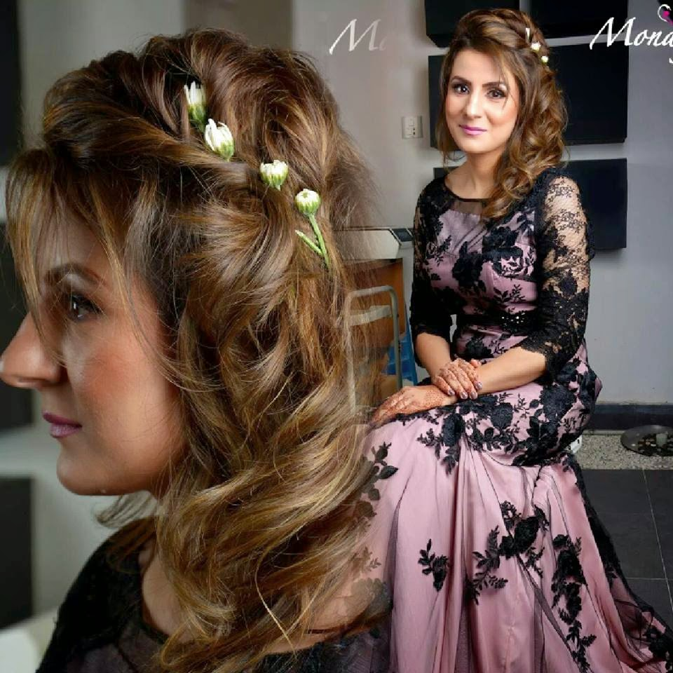 New Long And Messy Bun Hair Styles By Mona J From 2015 Trend