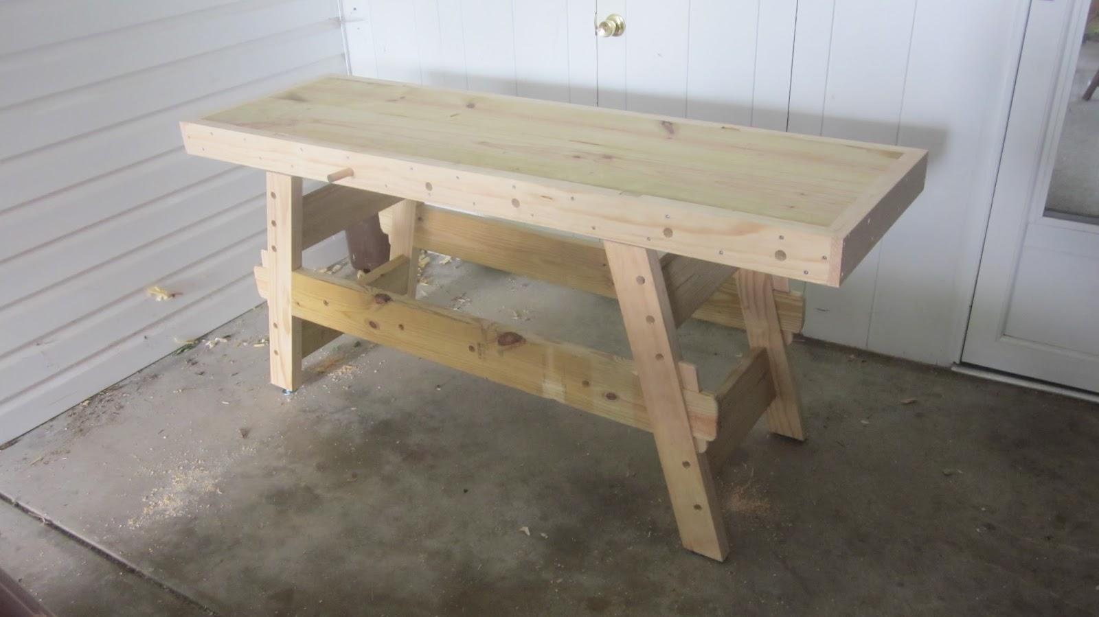 Cool Woodys Diy Furniture The Tusked Through Mortise Joint Pdpeps Interior Chair Design Pdpepsorg