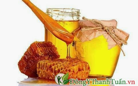 Cách trị bệnh nhiệt miệng bằng mật ong