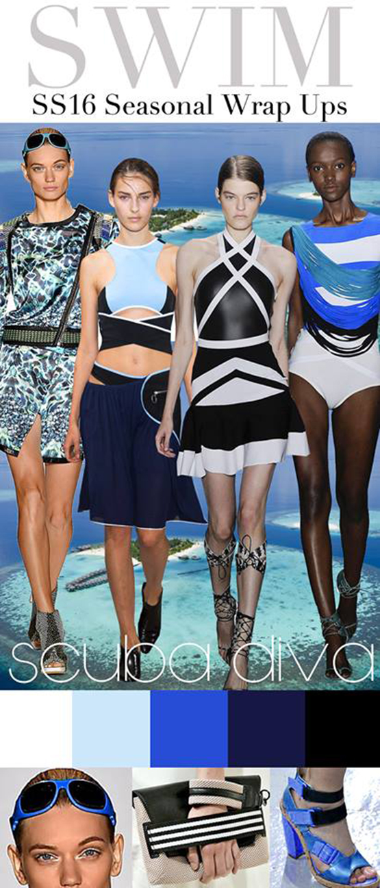 TRENDS // TREND COUNCIL - SWIM . SCUBA DIVA - SS2016