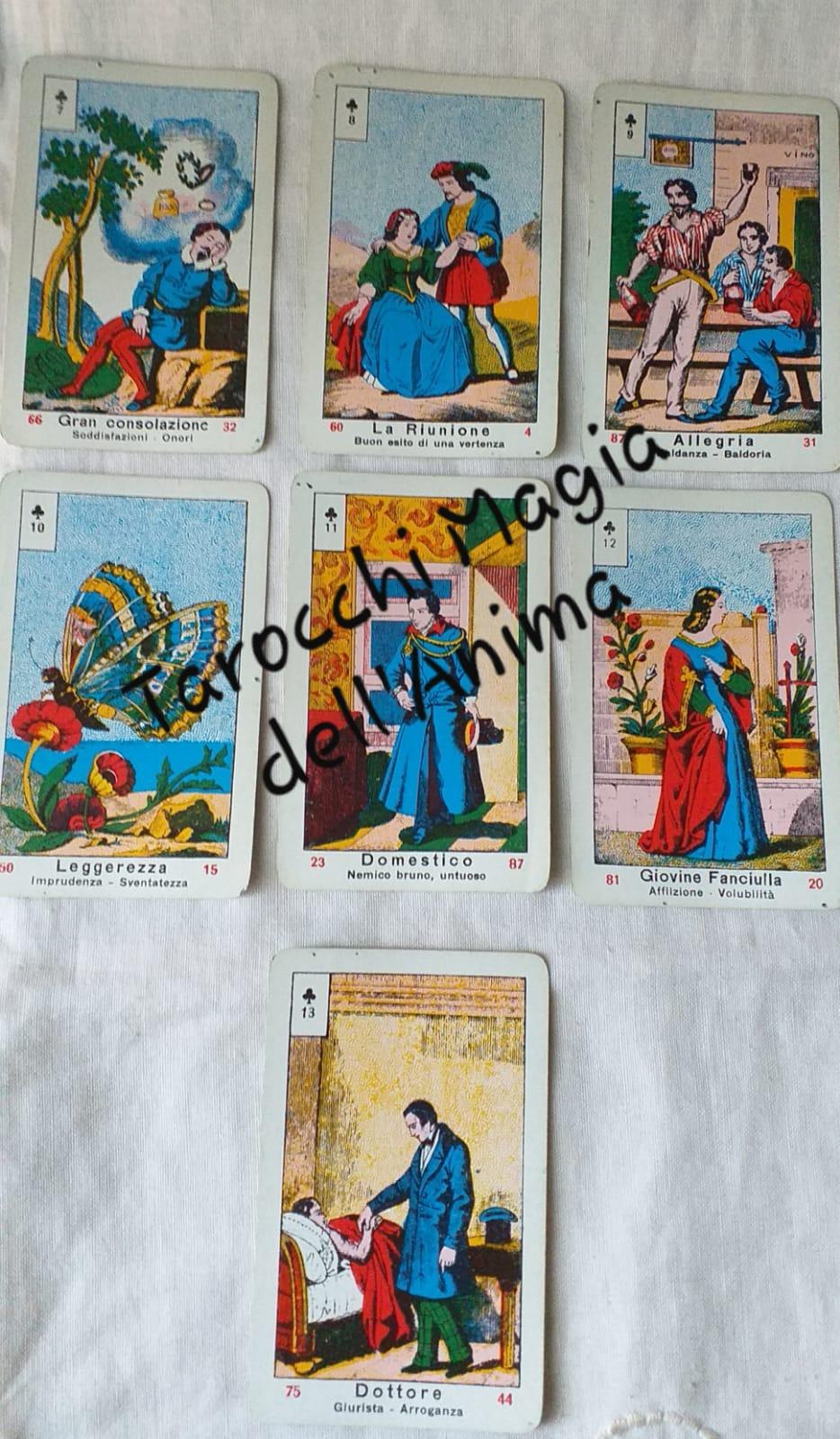 7 Fiori Significato.Tarocchi La Magia Dell Anima Significati Sibille Fiori