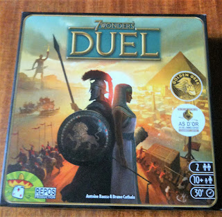 7 Wonders: Duel Card Game Box Art