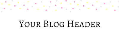 Blog Header Dots Colorful FREE