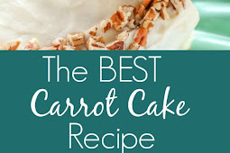 The BEST Carrot Cake with Cream Cheese Frosting Recipe