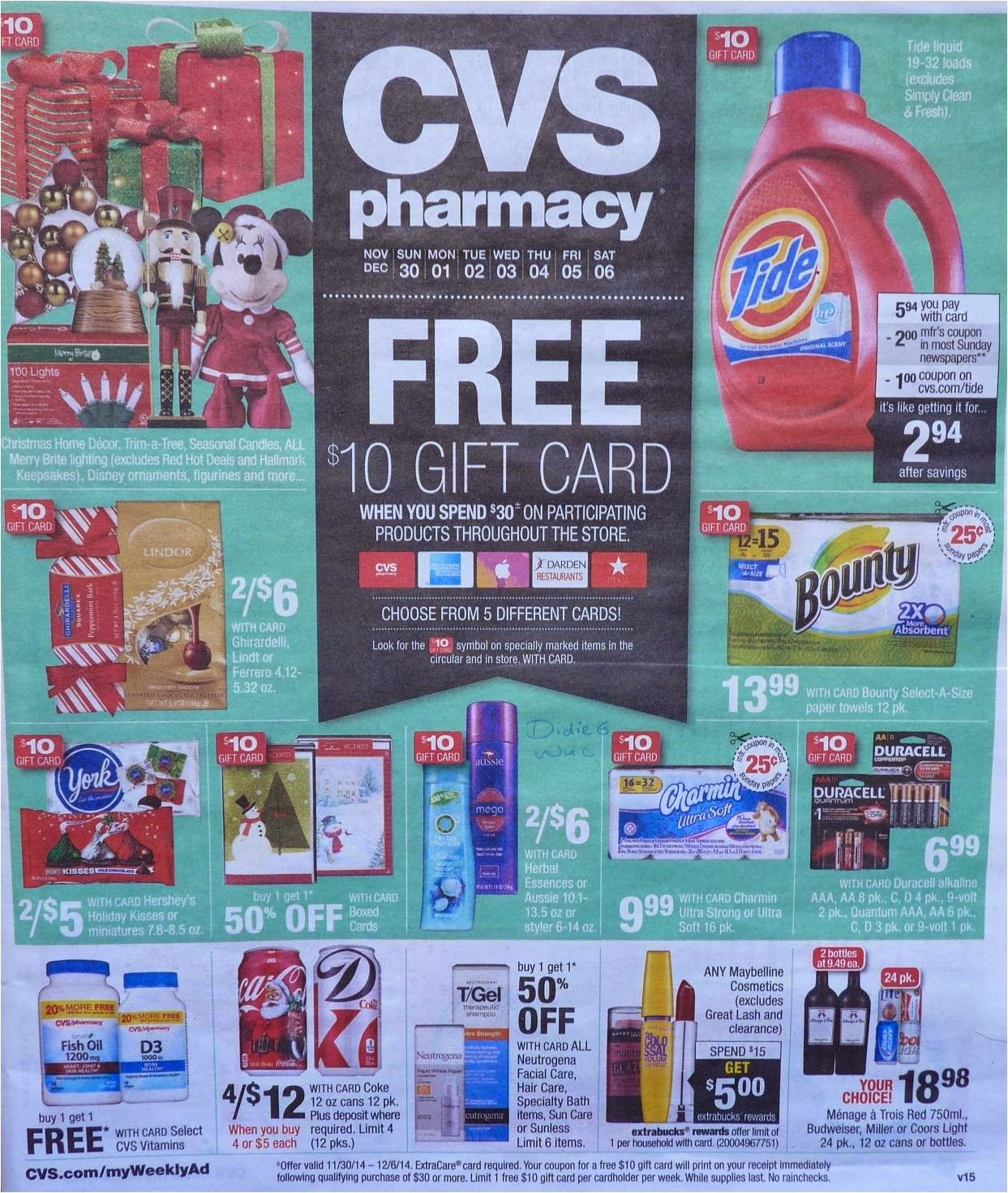 95d563e327497 Simply CVS  CVS Ad Scan Preview for the Week of 11 30 14
